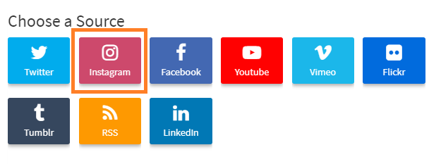 Choose Instagram Business
