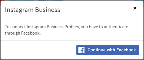 connect instagram business account