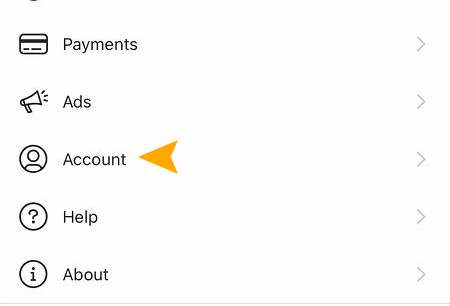 Instagram Business account settings