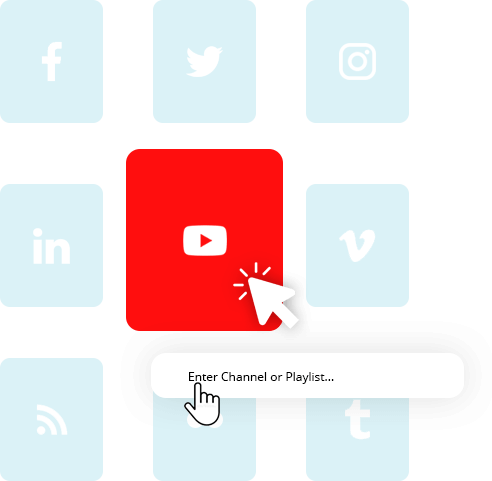 Connect YouTube as Source