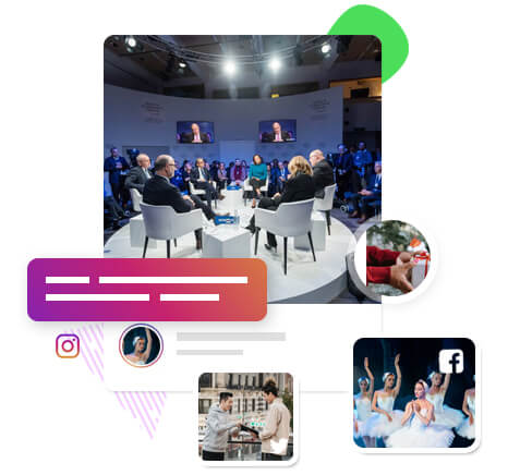 Build engagement around your event hashtag