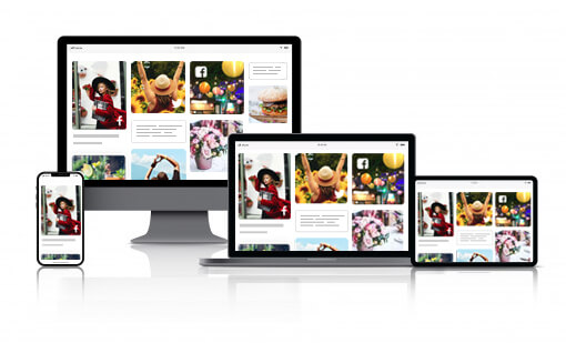 Social media aggregator for display wall