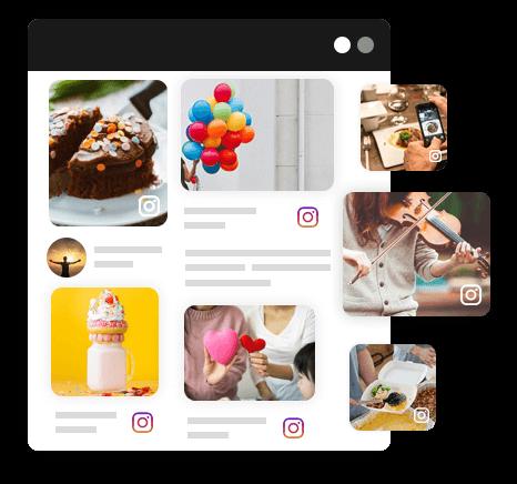 Embed Instagram Profile Feed on Website