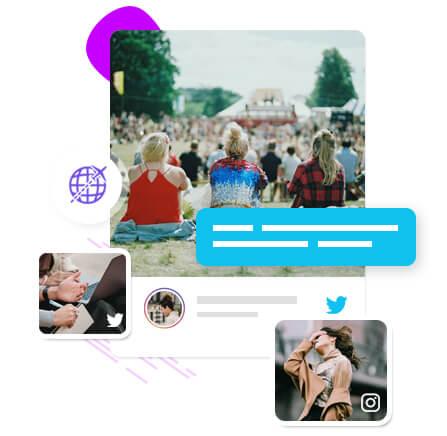 global exposure on social media