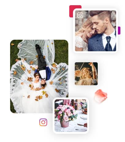 Instagram Wall for Wedding