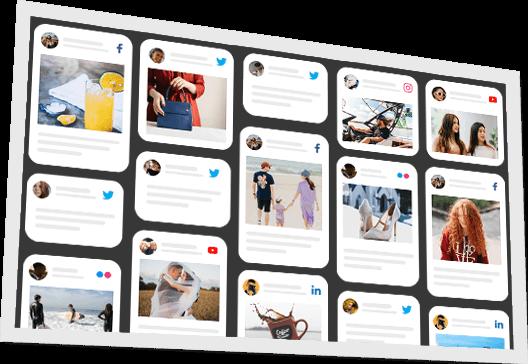 Social Wall API for Display Screens