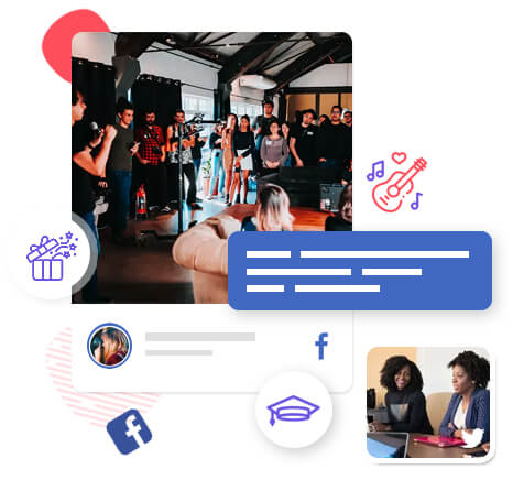Social wall for events and conferences