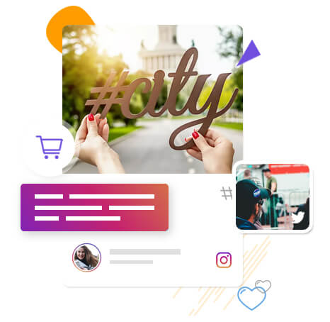 Social wall for hashtag campaign