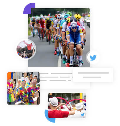 Twitter wall for events