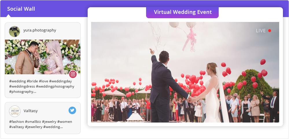 Virtual Wedding Events